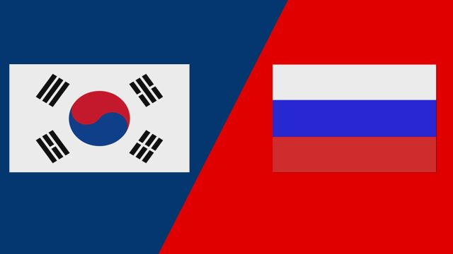 Korea vs. Russia (2018 FIL World Lacrosse Championships)