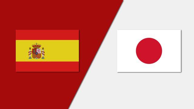 Spain vs. Japan (Group Phase)