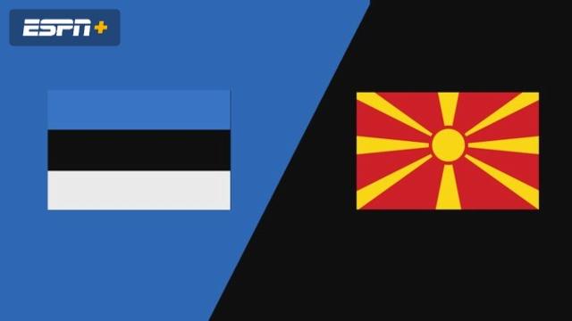 Estonia vs. North Macedonia