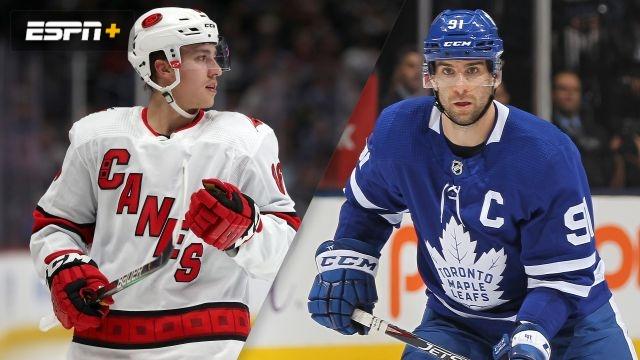 Carolina Hurricanes vs. Toronto Maple Leafs