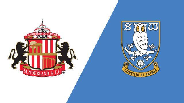 Sunderland vs. Sheffield Wednesday (Round 1) (Carabao Cup)
