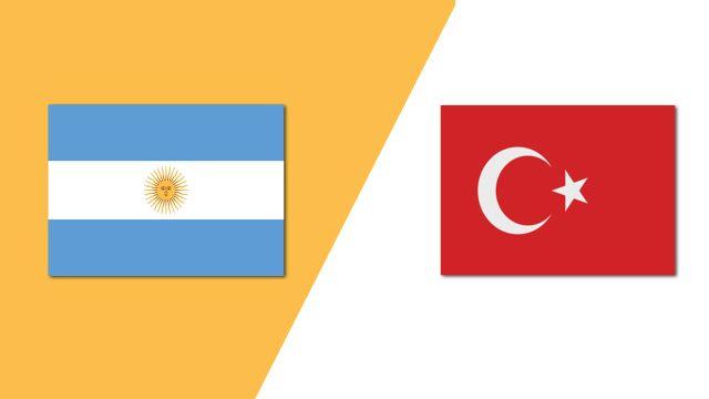 Argentina vs. Turkey (Group Phase)