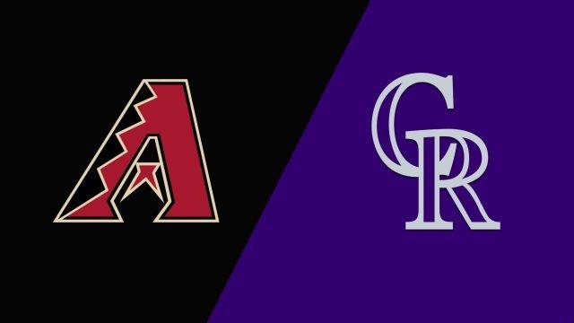 Arizona Diamondbacks vs. Colorado Rockies