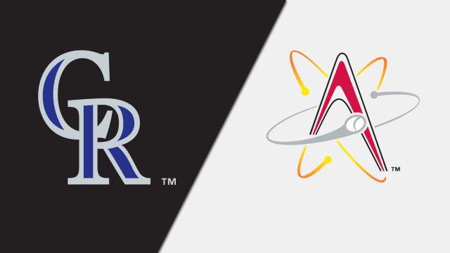 Colorado Rockies vs. Albuquerque Isotopes