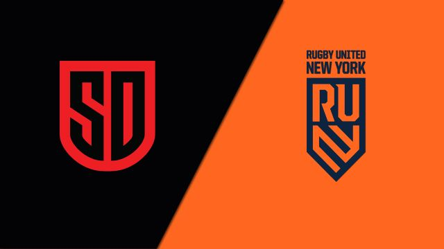 San Diego Legion vs. Rugby United New York (Major League Rugby)
