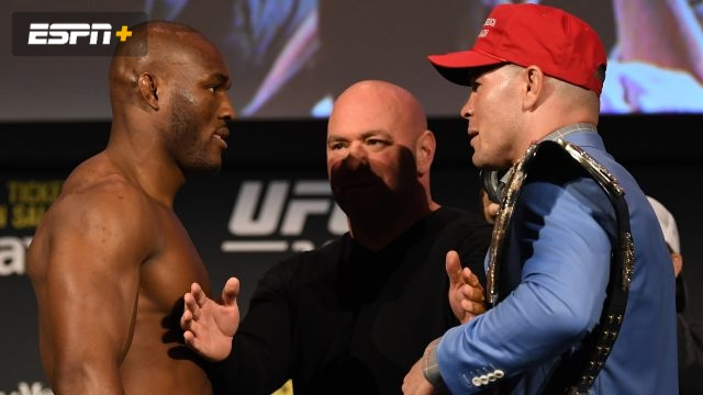 UFC 245 Weigh-In: Usman vs. Covington