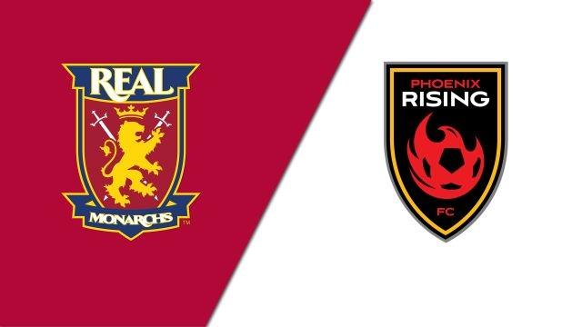 Real Monarchs SLC vs. Phoenix Rising FC (USL Championship)