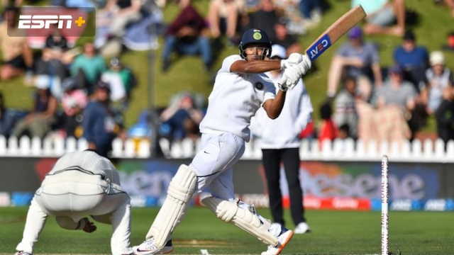 New Zealand vs. India (2nd Test - Day 2)