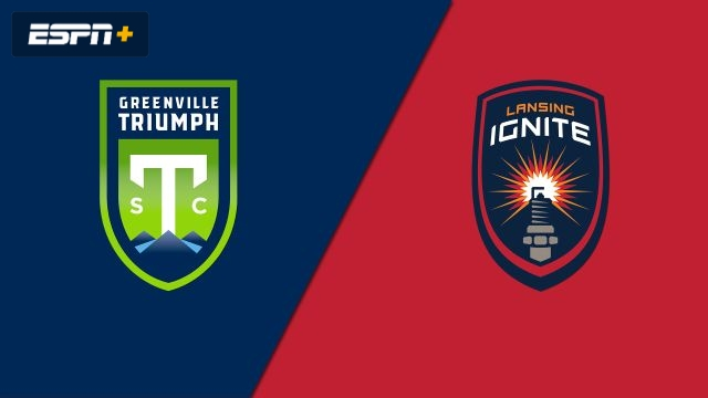 Greenville Triumph SC vs. Lansing Ignite FC (USL League One)