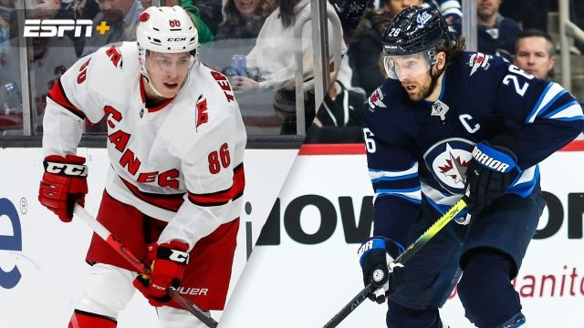 Carolina Hurricanes vs. Winnipeg Jets