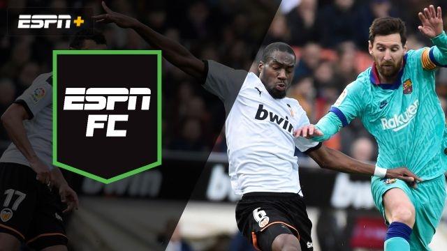 Sat, 1/25 – ESPN FC: Showdown at Mestalla
