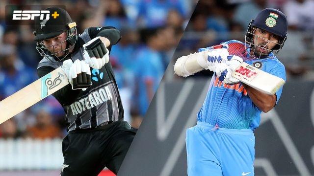 New Zealand vs. India (3rd T20)