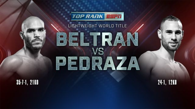 Top Rank Boxing on ESPN: Beltran vs. Pedraza Official Press Conference