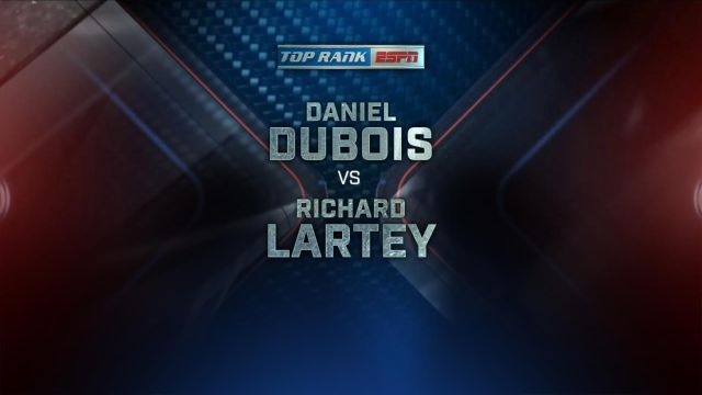 Daniel Dubois vs. Richard Lartey