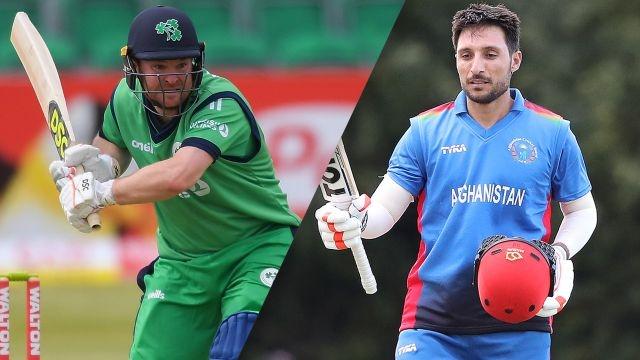 Ireland vs. Afghanistan (1st ODI)