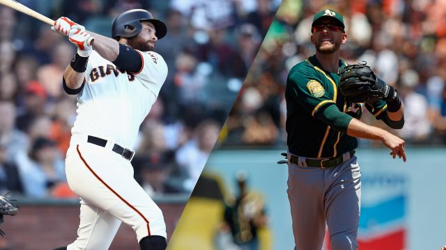 San Francisco Giants vs. Oakland Athletics