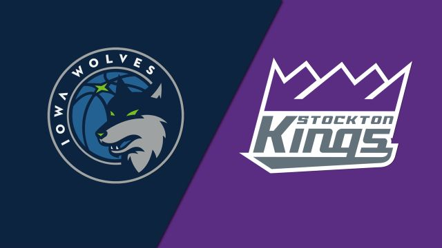 Iowa Wolves vs. Stockton Kings
