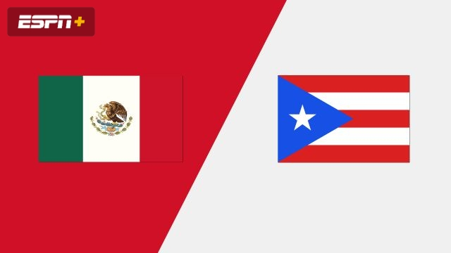 Mexico vs. Puerto Rico (Group Phase)