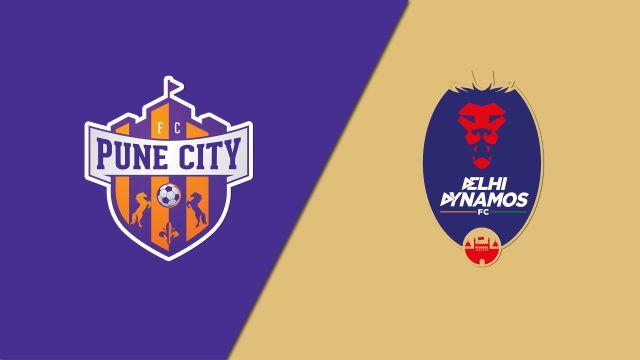 FC Pune City vs. Delhi Dynamos FC (Indian Super League)