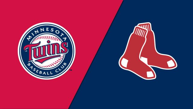 Minnesota Twins vs. Boston Red Sox