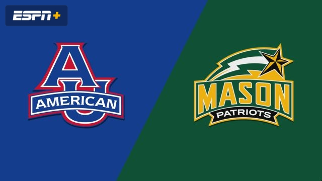 American vs. George Mason (M Basketball)