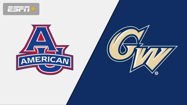 American vs. George Washington (M Basketball)