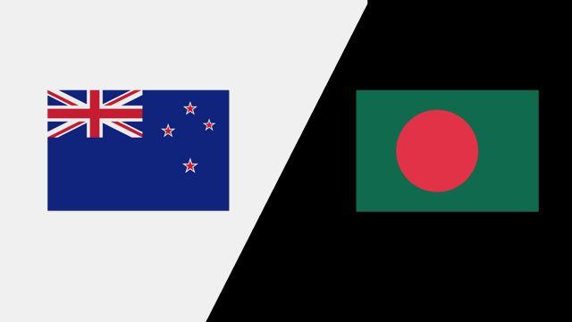 New Zealand vs. Bangladesh (1st Test - Day 2)