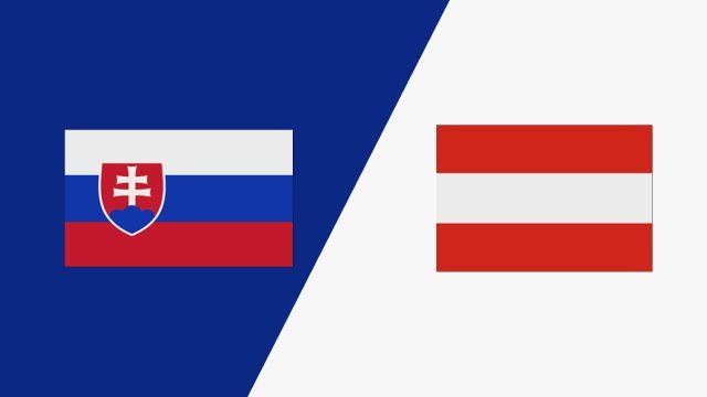 Slovakia vs. Austria (2018 FIL World Lacrosse Championships)
