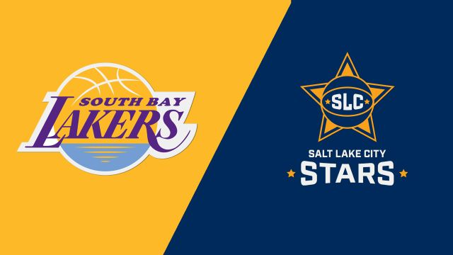 South Bay Lakers vs. Salt Lake City Stars