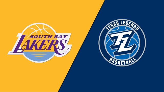 South Bay Lakers vs. Texas Legends