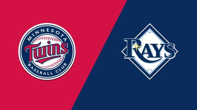 Minnesota Twins vs. Tampa Bay Rays