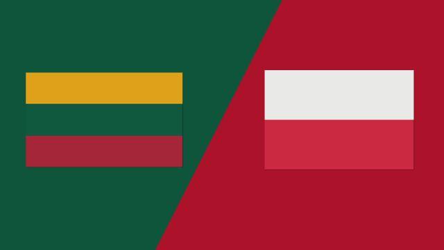 Lithuania vs. Poland (FIBA World Cup 2019 Qualifier)