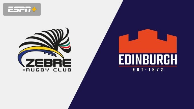 Zebre Rugby Club vs. Edinburgh (Guinness PRO14 Rugby)