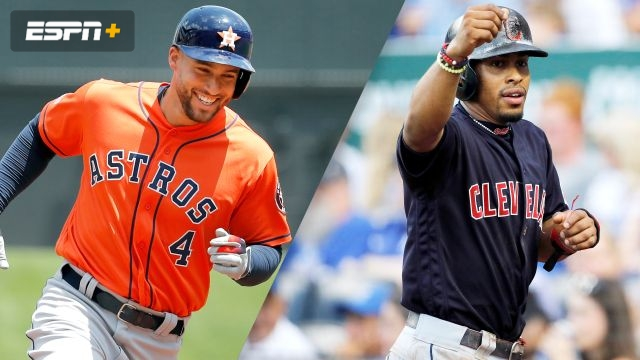 Houston Astros vs. Cleveland Indians