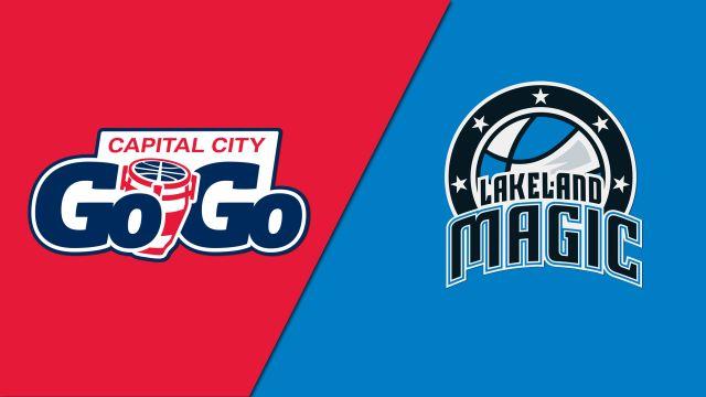 Capital City Go-Go vs. Lakeland Magic