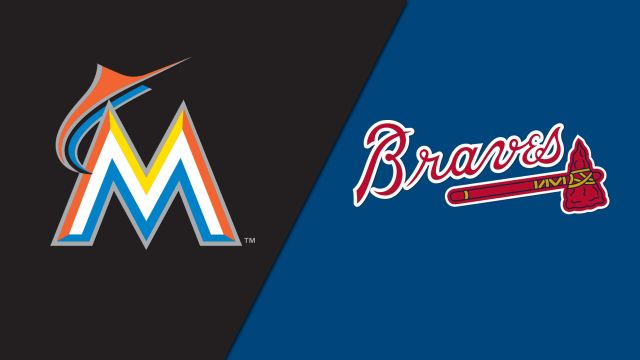 Miami Marlins vs. Atlanta Braves