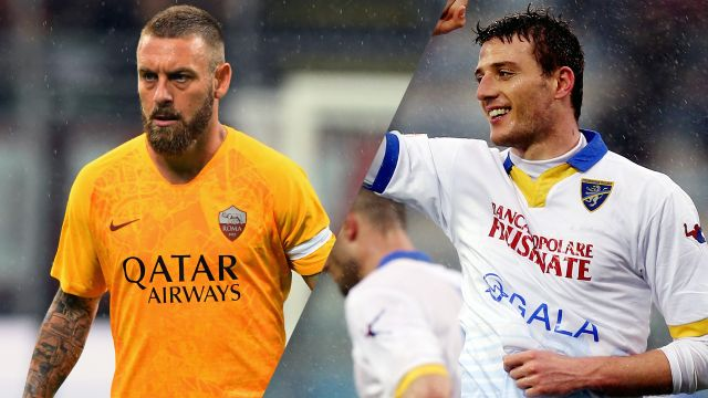 AS Roma vs. Frosinone (Serie A)