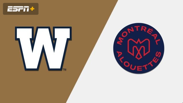 Winnipeg Blue Bombers vs. Montreal Alouettes (Canadian Football League)