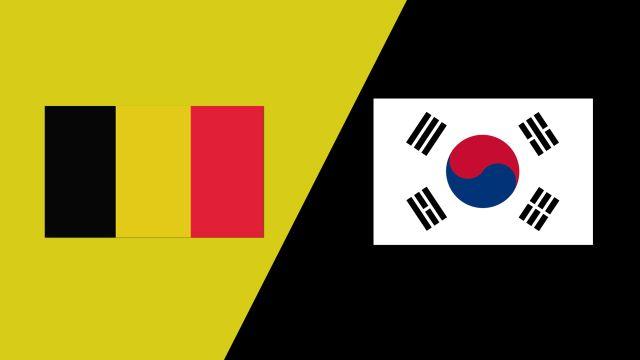 Belgium vs. Korea (2018 FIL World Lacrosse Championships)