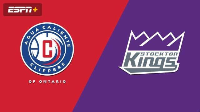 Agua Caliente Clippers vs. Stockton Kings
