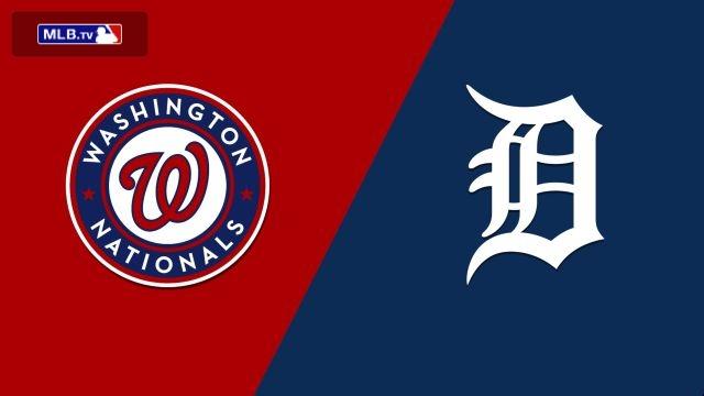 Washington Nationals vs. Detroit Tigers