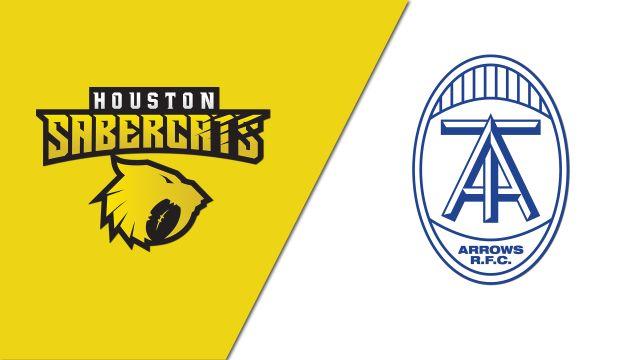 Houston SaberCats vs. Toronto Arrows (Major League Rugby)