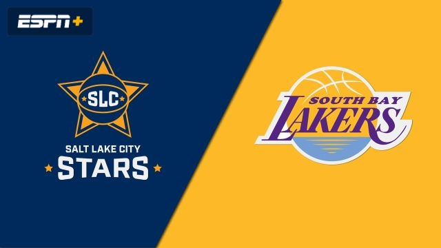 Salt Lake City Stars vs. South Bay Lakers