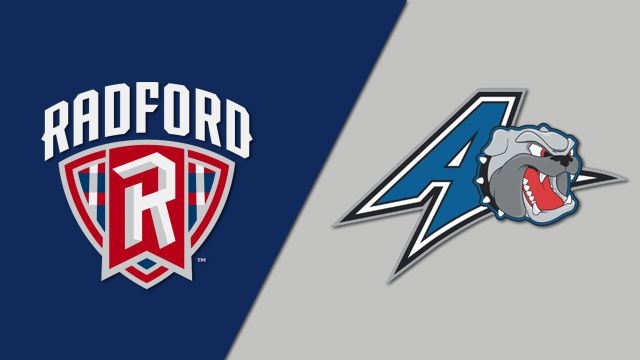 Radford vs. UNC Asheville (W Volleyball)