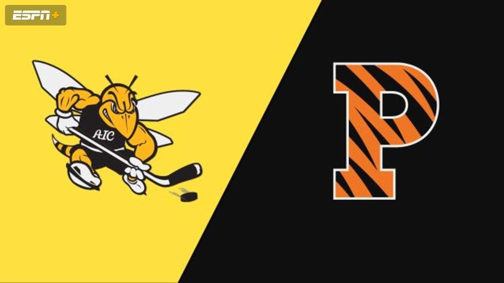 American International vs. Princeton (M Hockey)