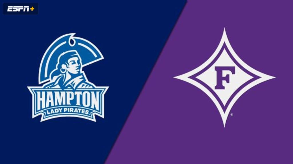 Hampton vs. Furman (W Basketball)