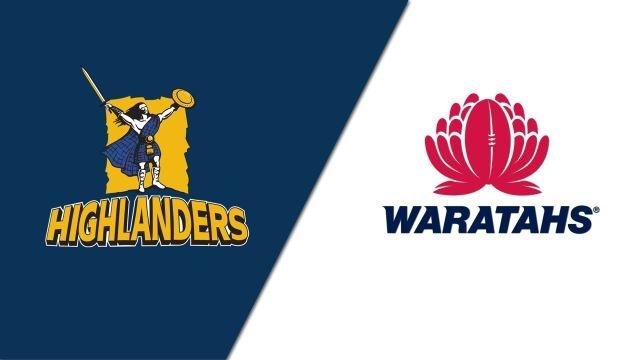 Highlanders vs. Waratahs (Super Rugby)