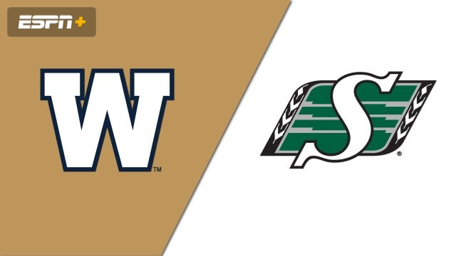Winnipeg Blue Bombers vs. Saskatchewan Roughriders (Canadian Football League)