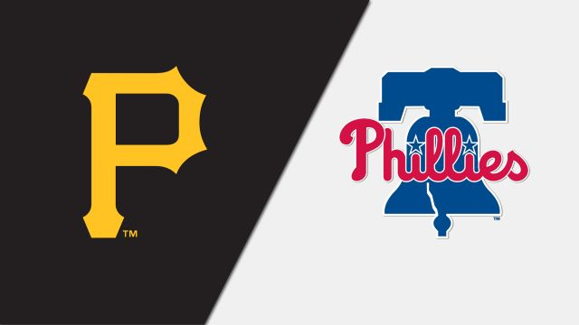 Pittsburgh Pirates vs. Philadelphia Phillies