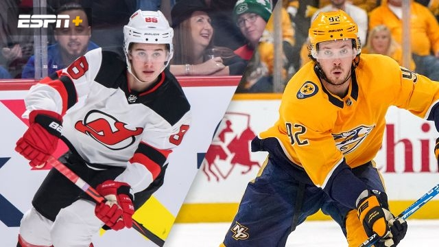 New Jersey Devils vs. Nashville Predators